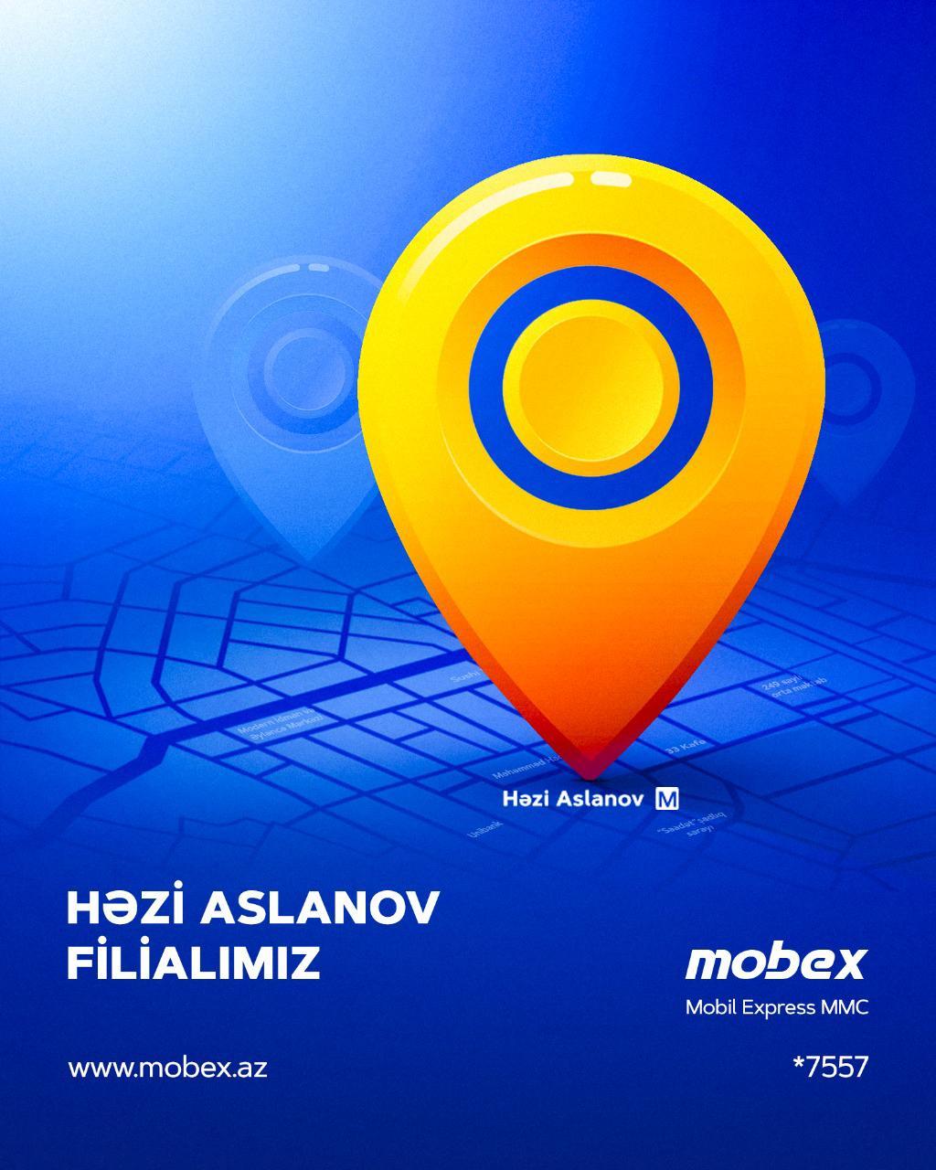 Həzi Aslanov filialı fəaliyyətə başladı