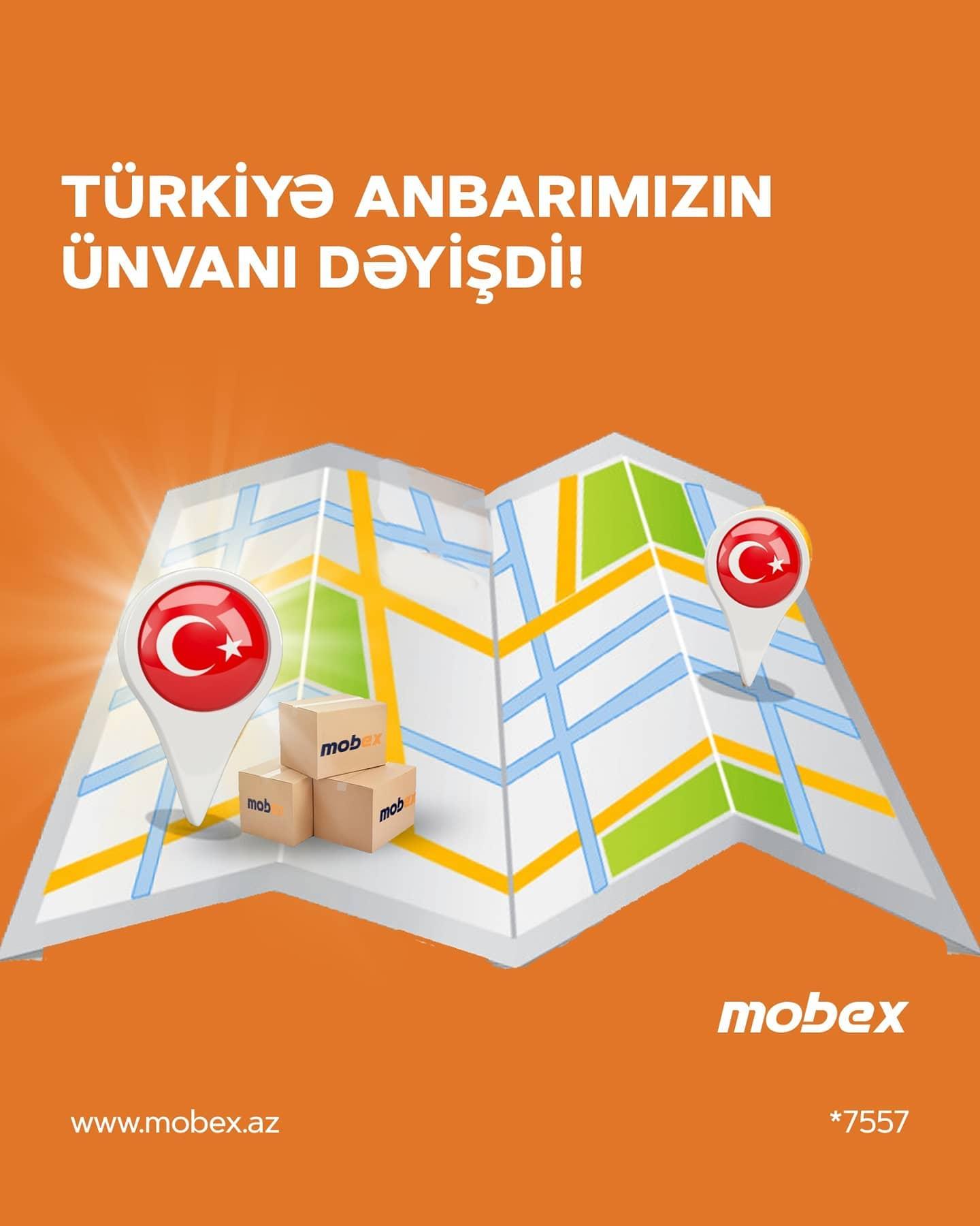 TÜRKİYƏ ANBARIMIZ ARTIQ YENI ÜNVANDA!